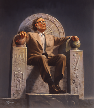 300px-Isaac_Asimov_on_Throne