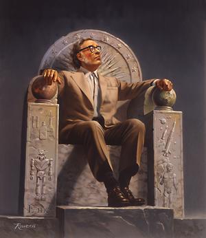 300px-Isaac_Asimov_on_Throne